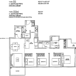 Rivertree Residence Floor Plan 4 Bedroom Prive