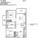 Rivertrees Floor Plans 2 Bedroom Suite
