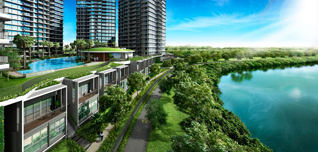 Rivertrees Floor Plans :: Cove Homes overlooking Punggol Reservoir