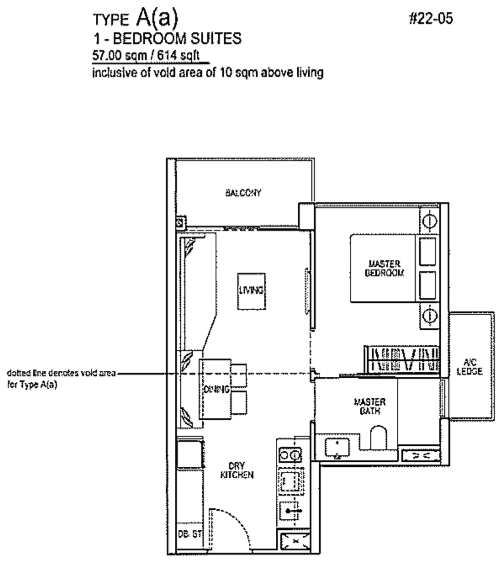 Rivertrees floor plans rivertrees condo floor plan brochure for 1 bedroom condo floor plans