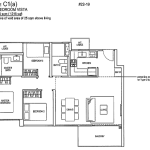 Rivertrees Residences Floor Plans 3 Bedroom Vista