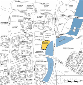 Rivertrees Residences Location Plan