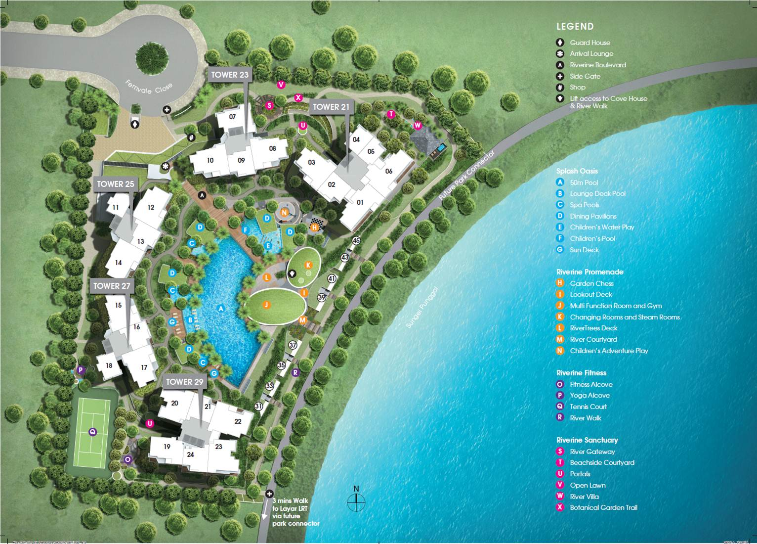 Rivertrees Site Plan