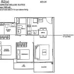 Rivertrees Floor Plan 2 Bedroom Deluxe Suite
