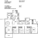 Rivertree Residence Floor Plan 4 Bedroom Prive
